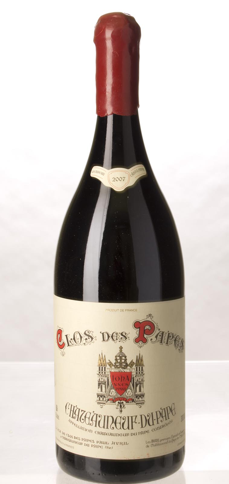 Clos des Papes Chateauneuf du Pape 2007, 3L (WA99+, WS97) from The BPW - Merchants of rare and fine wines.
