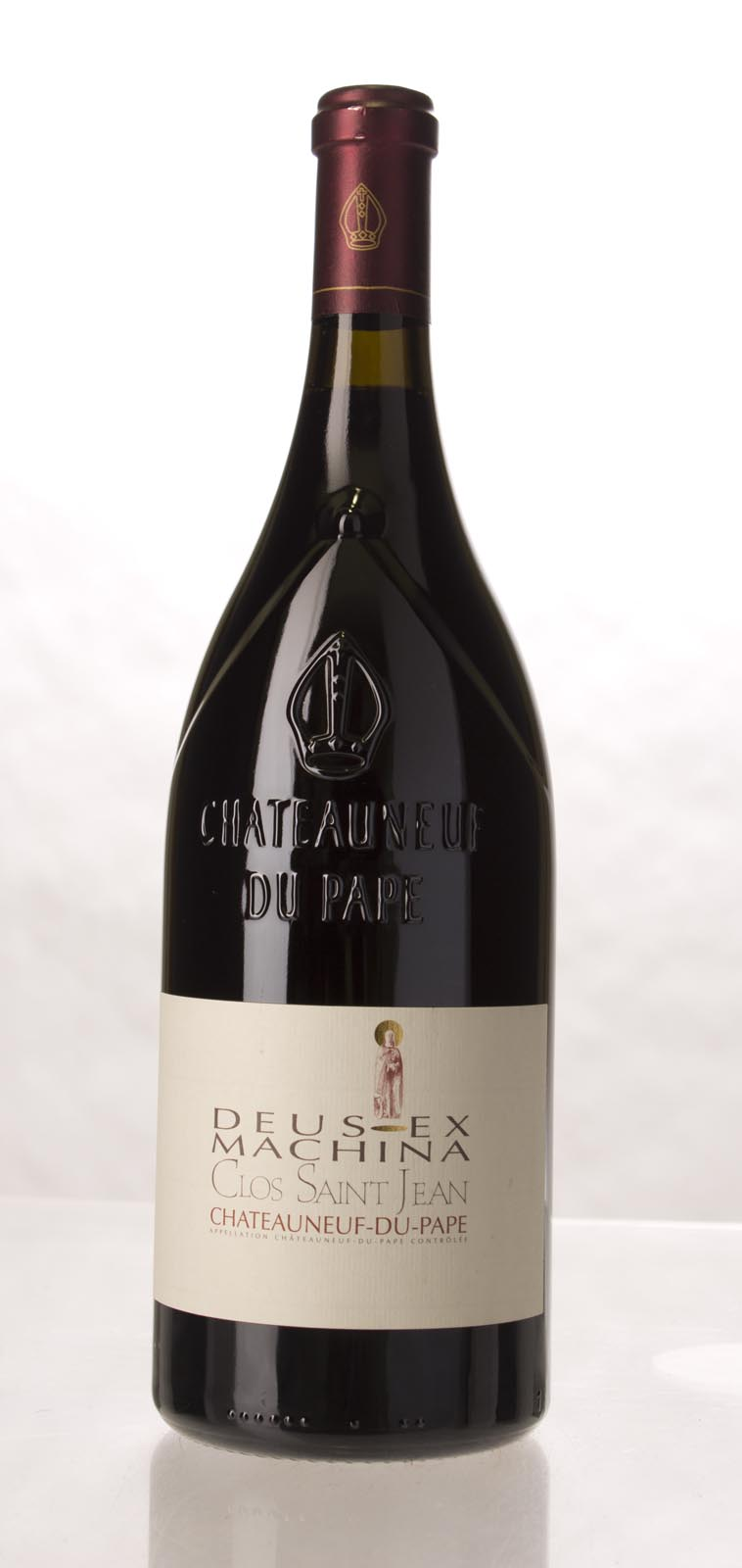 Clos St. Jean Chateauneuf du Pape Deus Ex Machina 2005, 1.5L (WA100) from The BPW - Merchants of rare and fine wines.