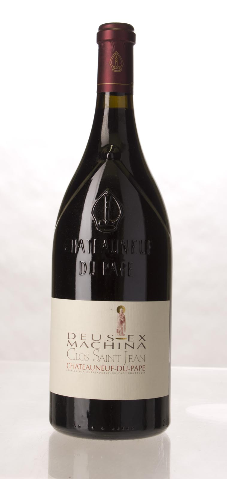 Clos St. Jean Chateauneuf du Pape Deus Ex Machina 2007, 1.5L (WA100) from The BPW - Merchants of rare and fine wines.