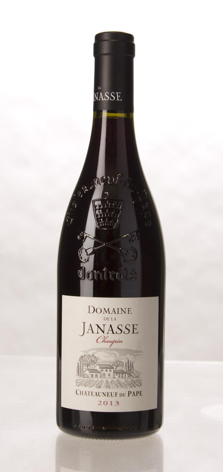 Domaine de la Janasse Chateauneuf du Pape Cuvee Chaupin 2013,  (WA93, VN92, WS93) from The BPW - Merchants of rare and fine wines.