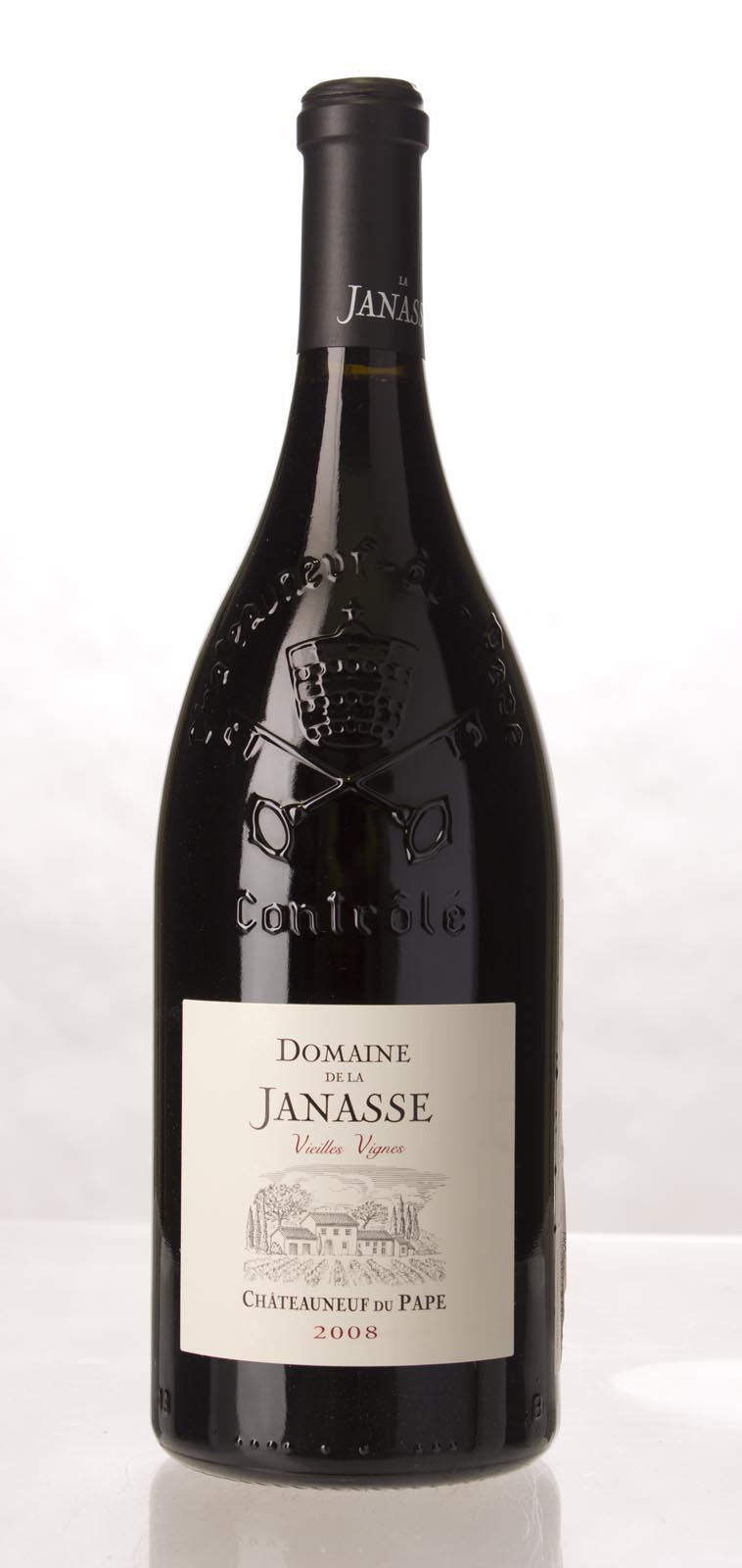 Domaine de la Janasse Chateauneuf du Pape Cuvee Vieilles Vignes 2008, 1.5L (WA92, ST92, WS94) from The BPW - Merchants of rare and fine wines.