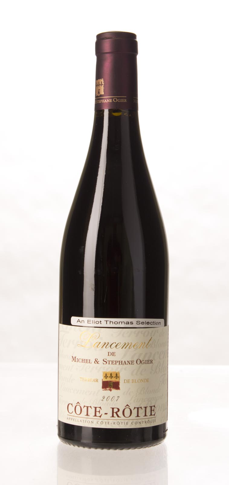 Michel & Stephane Ogier Cote Rotie Lancement 2007, 750mL (WA98) from The BPW - Merchants of rare and fine wines.