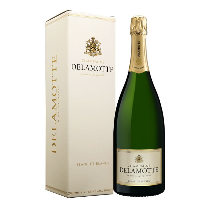 Delamotte Blanc de Blancs N.V., 1.5L ( JS92, WS91) from The BPW - Merchants of rare and fine wines.