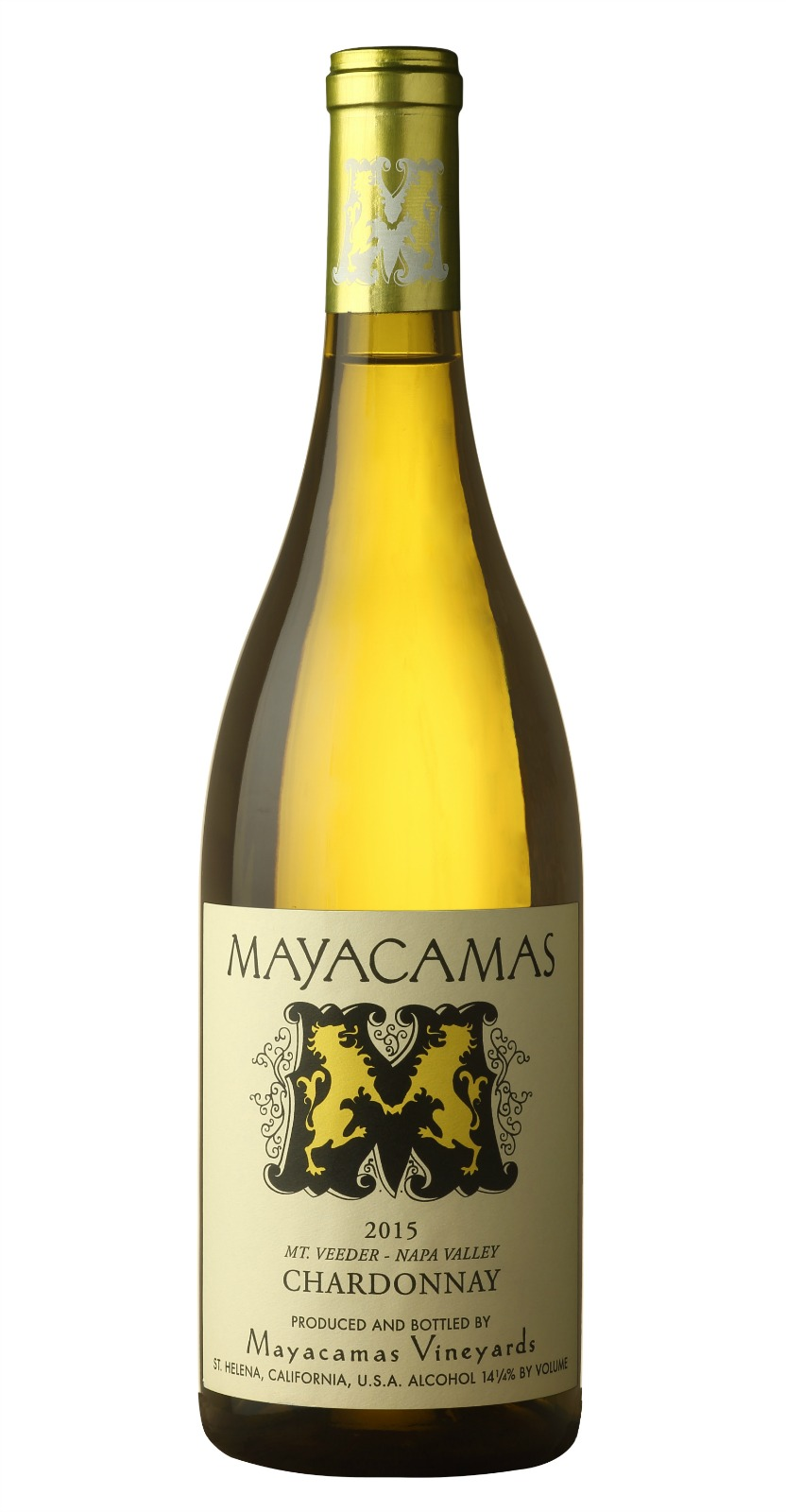 Mayacamas Chardonnay 2015, 750ml (VN95) from The BPW - Merchants of rare and fine wines.