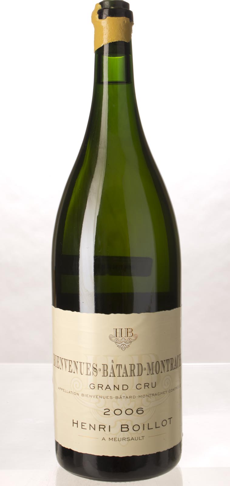 Henri Boillot Bienvenues Batard Montrachet 2006, 3L (BH95, WA95-96) from The BPW - Merchants of rare and fine wines.