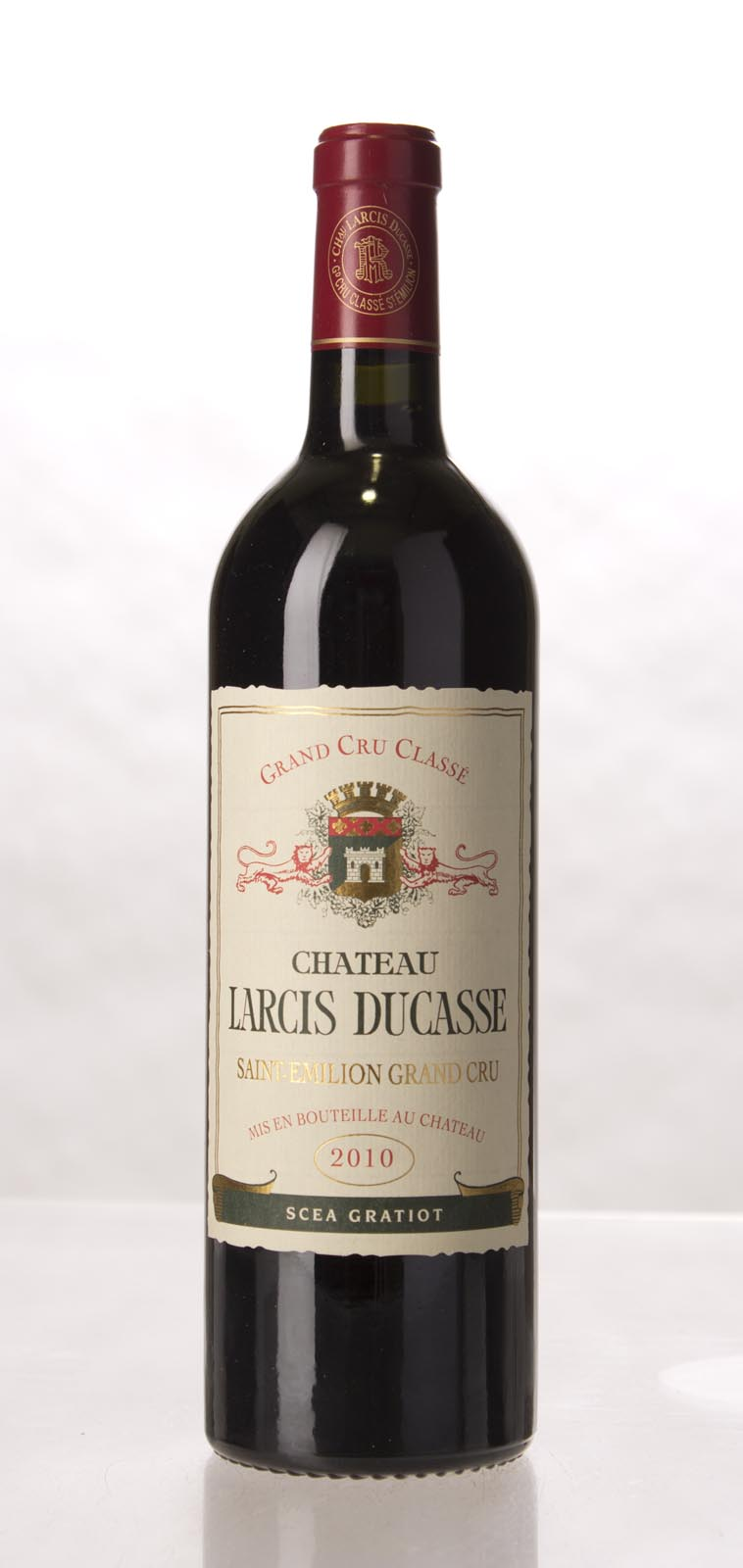 Larcis Ducasse 2010,  (WA98+) from The BPW - Merchants of rare and fine wines.