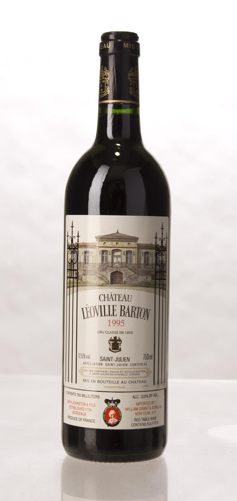 Leoville Barton 1995, 750mL (WS93) from The BPW - Merchants of rare and fine wines.