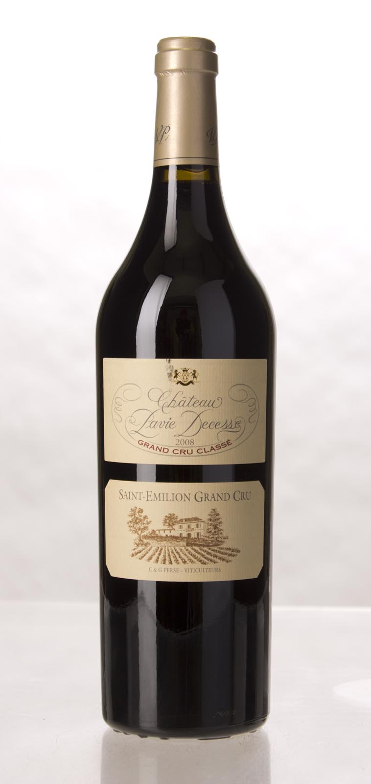 Pavie Decesse 2008, 750mL (WA94+, ST92, WS92) from The BPW - Merchants of rare and fine wines.