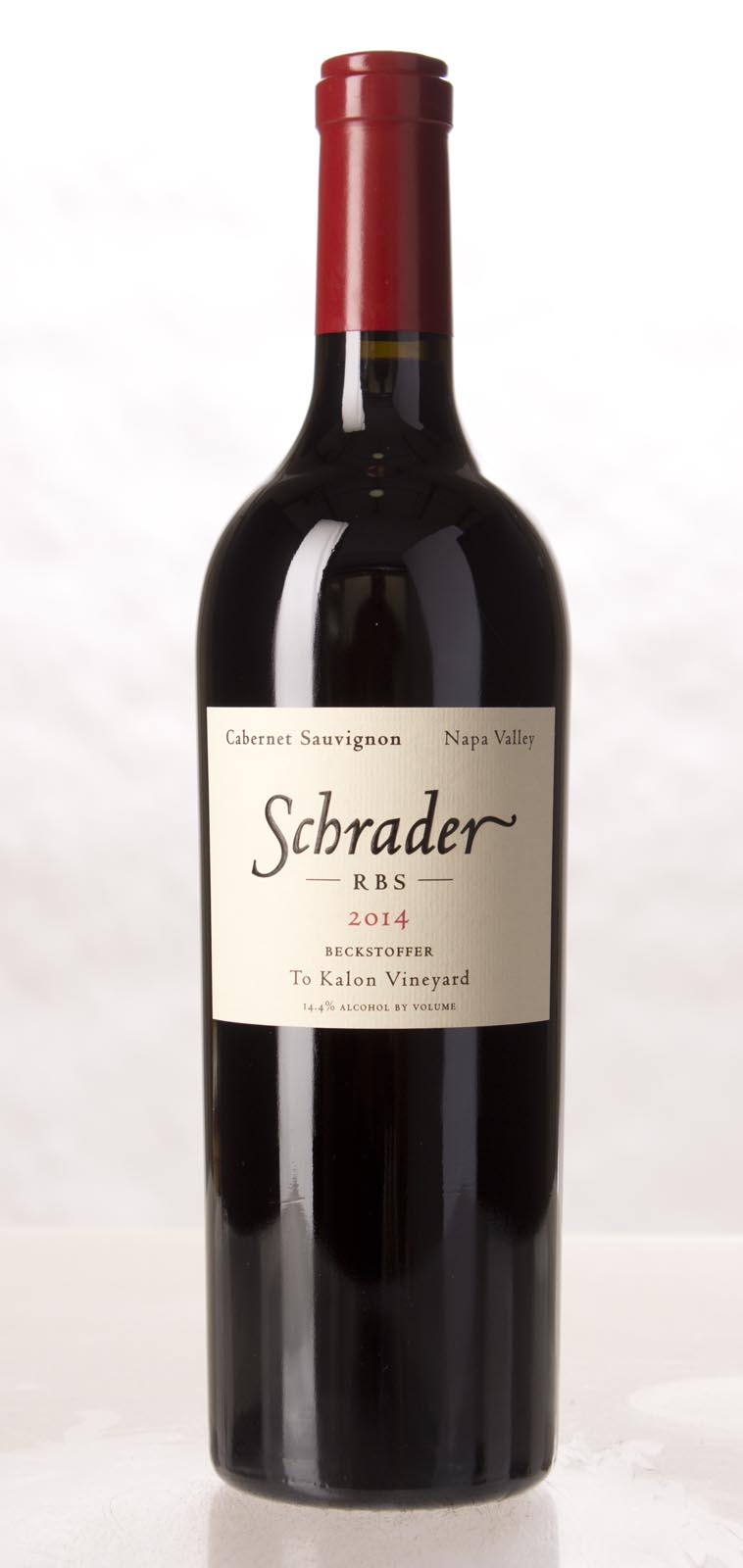 Schrader Cellars Cabernet Sauvignon Beckstoffer To Kalon Vineyard RBS 2014, 750mL (WA96, JS96) from The BPW - Merchants of rare and fine wines.