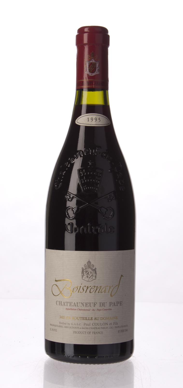 Domaine de Beaurenard Chateauneuf du Pape Cuvee Boisrenard 2014,  (WA93, VN92-94, WS94) from The BPW - Merchants of rare and fine wines.