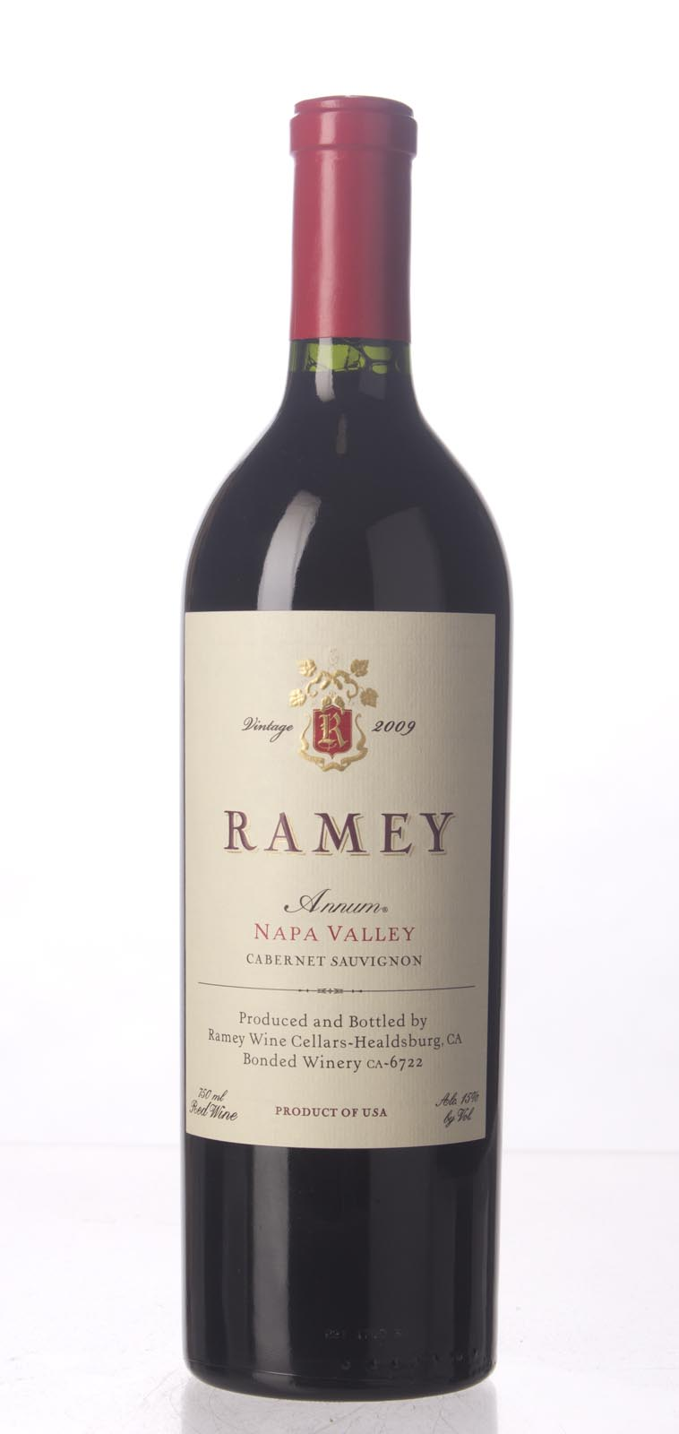 Ramey Cabernet Sauvignon Annum 2009, 750mL (AG92, WA92, ST93) from The BPW - Merchants of rare and fine wines.
