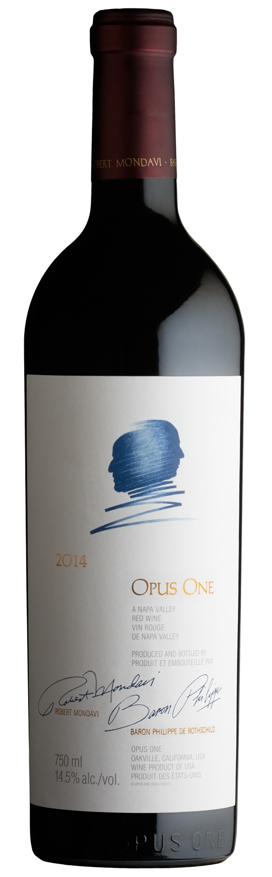 Opus One Proprietary Red Wine 2014, 750ml (JS97, VN95+) from The BPW - Merchants of rare and fine wines.