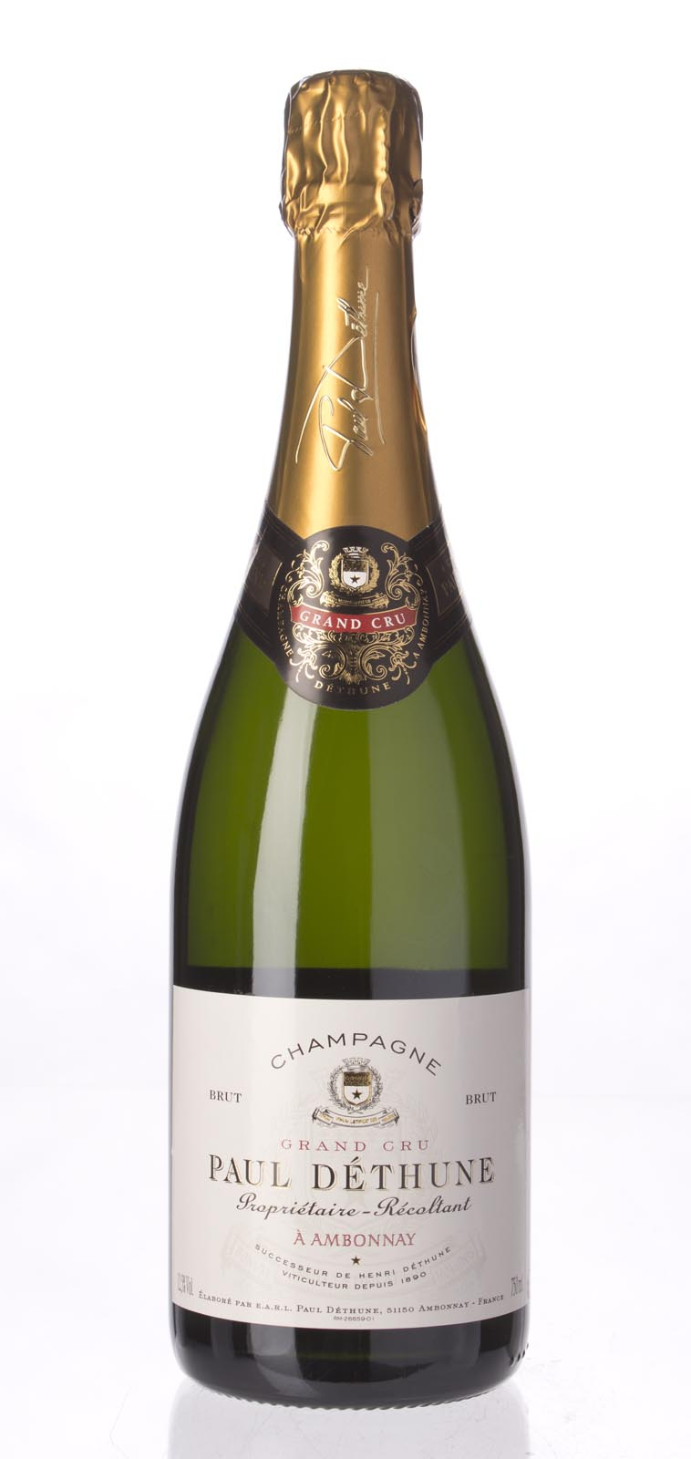 Paul Dethune Brut Grand Cru N.V., 750ml () from The BPW - Merchants of rare and fine wines.