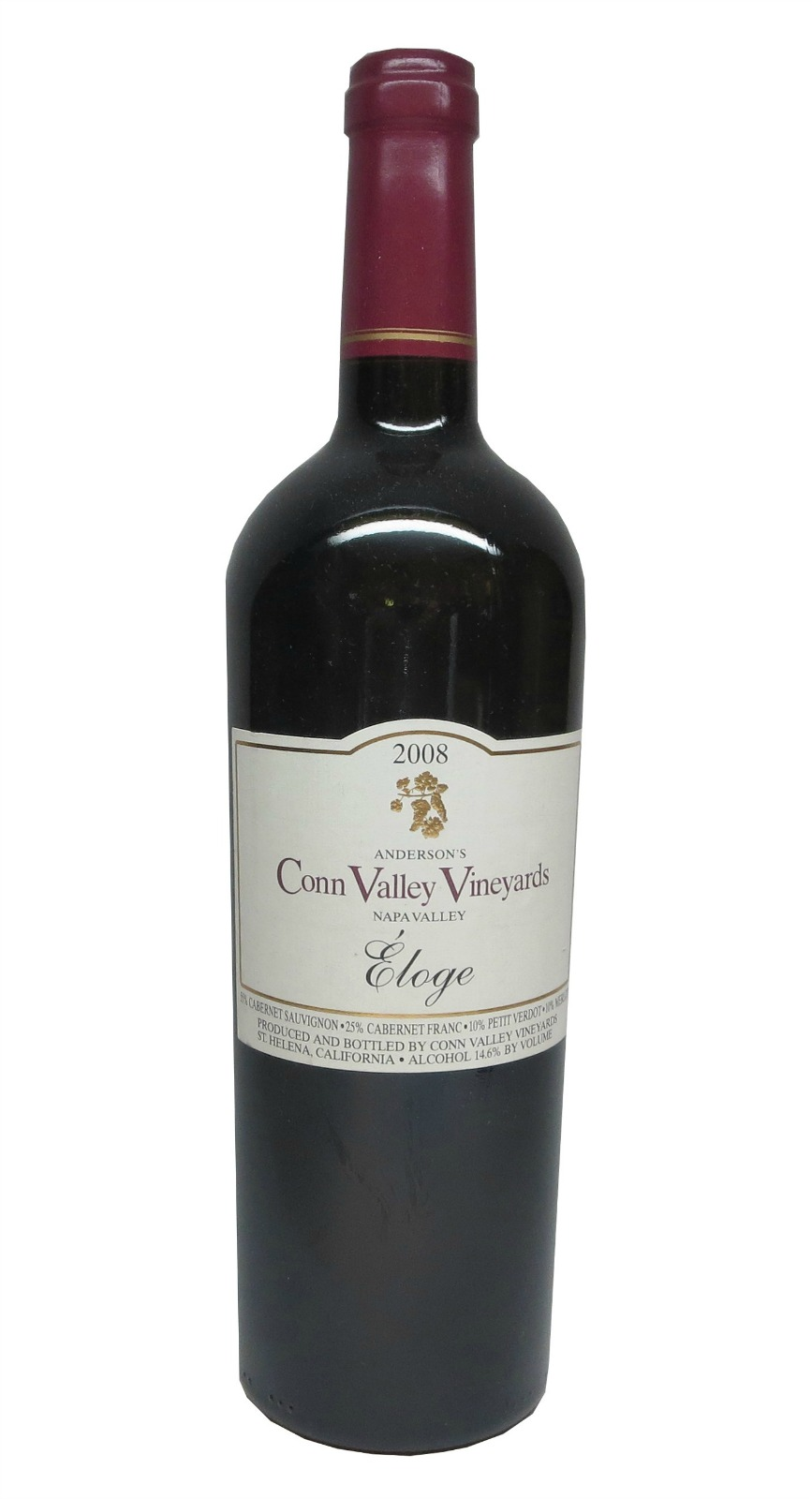 Anderson`s Conn Valley Proprietary Red Eloge 2004, 1.5L (WA95) from The BPW - Merchants of rare and fine wines.