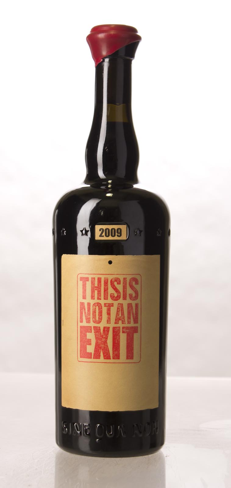 Sine Qua Non Syrah This Is Not an Exit Eleven Confessions Vineyard 2009, 750mL (WA97, ST95, WS95) from The BPW - Merchants of rare and fine wines.