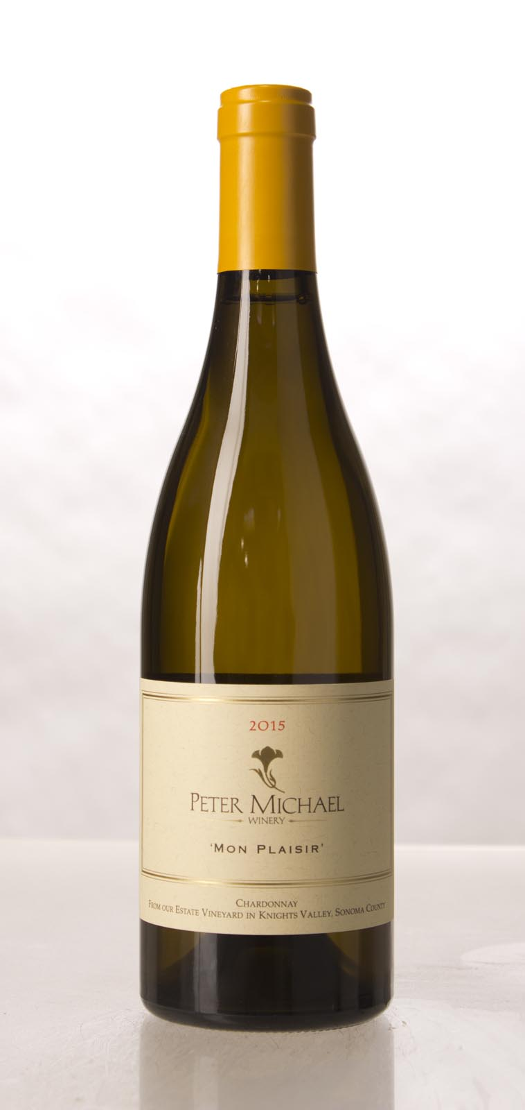 Peter Michael Winery Chardonnay Mon Plaisir 2015, 750mL (WA96) from The BPW - Merchants of rare and fine wines.