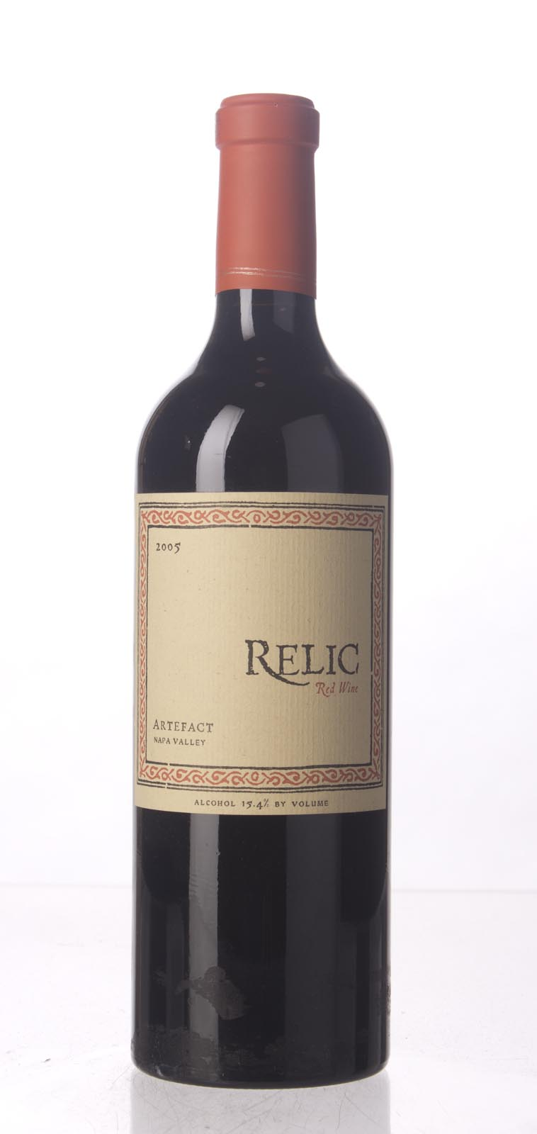 Relic Proprietary Red Artefact 2005, 750mL (ST91) from The BPW - Merchants of rare and fine wines.