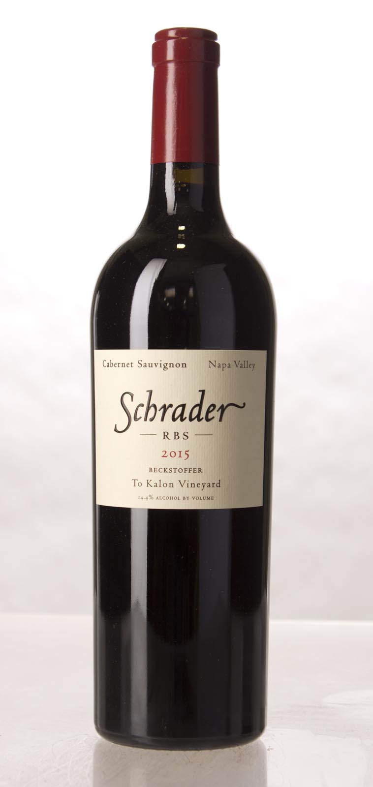 Schrader Cellars Cabernet Sauvignon Beckstoffer To Kalon Vineyard RBS 2015,  (WA95-97) from The BPW - Merchants of rare and fine wines.