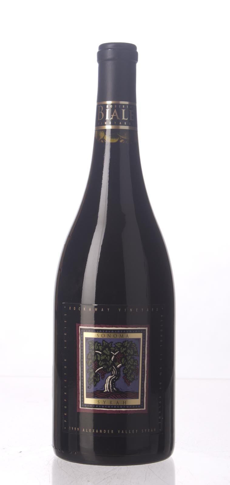 Robert Biale Syrah Rockaway Vineyard 1999, 750mL () from The BPW - Merchants of rare and fine wines.
