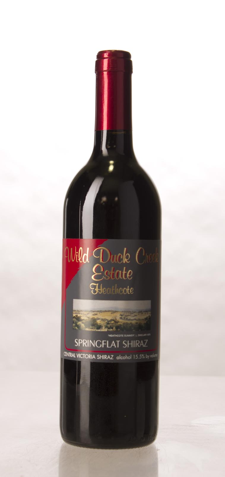 Wild Duck Creek Shiraz Springflat 2000, 750mL (WA90, ST90, WS91) from The BPW - Merchants of rare and fine wines.