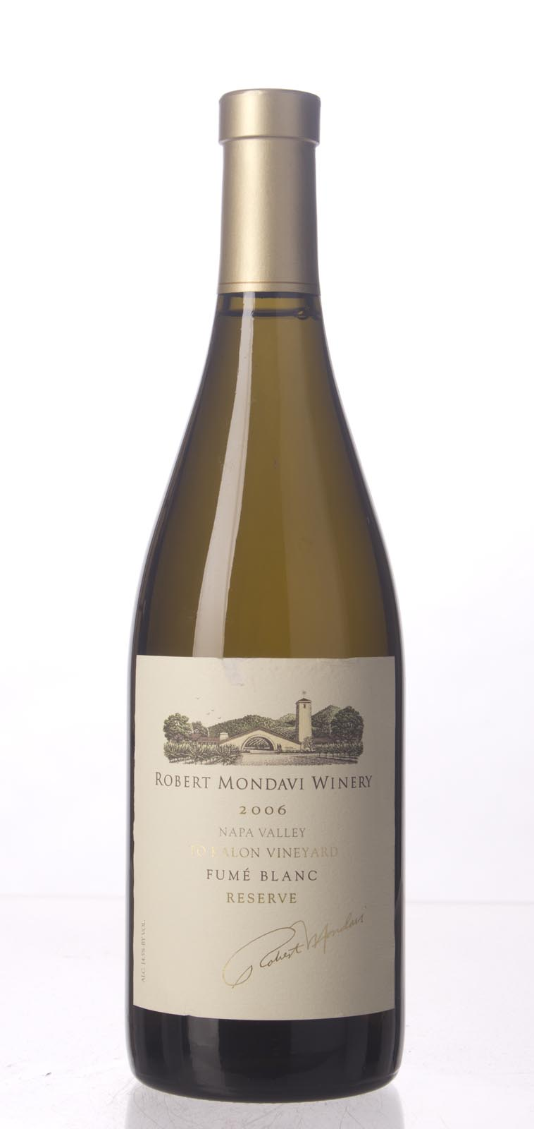 Robert Mondavi Fume Blanc To Kalon Vineyard Reserve 2006, 750mL (WA91, ST90) from The BPW - Merchants of rare and fine wines.