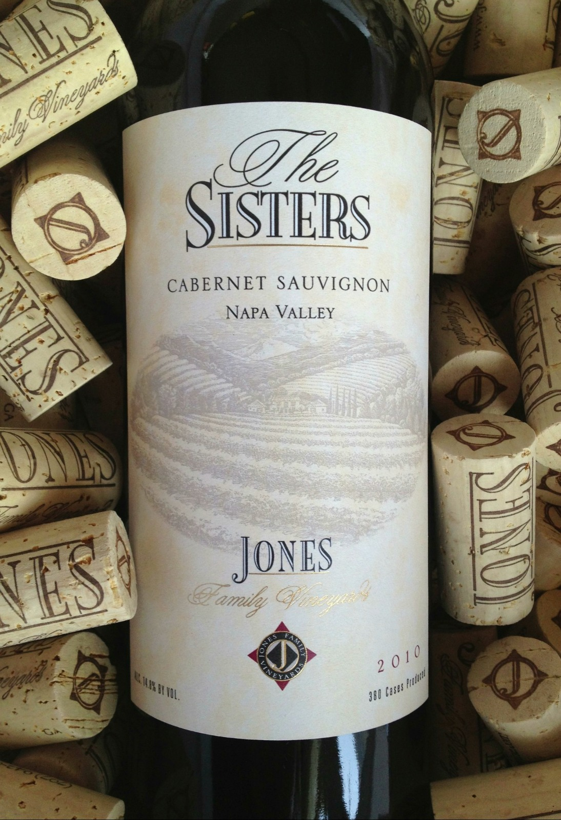 Jones Family Vineyard Cabernet Sauvignon The Sisters 2013,  () from The BPW - Merchants of rare and fine wines.