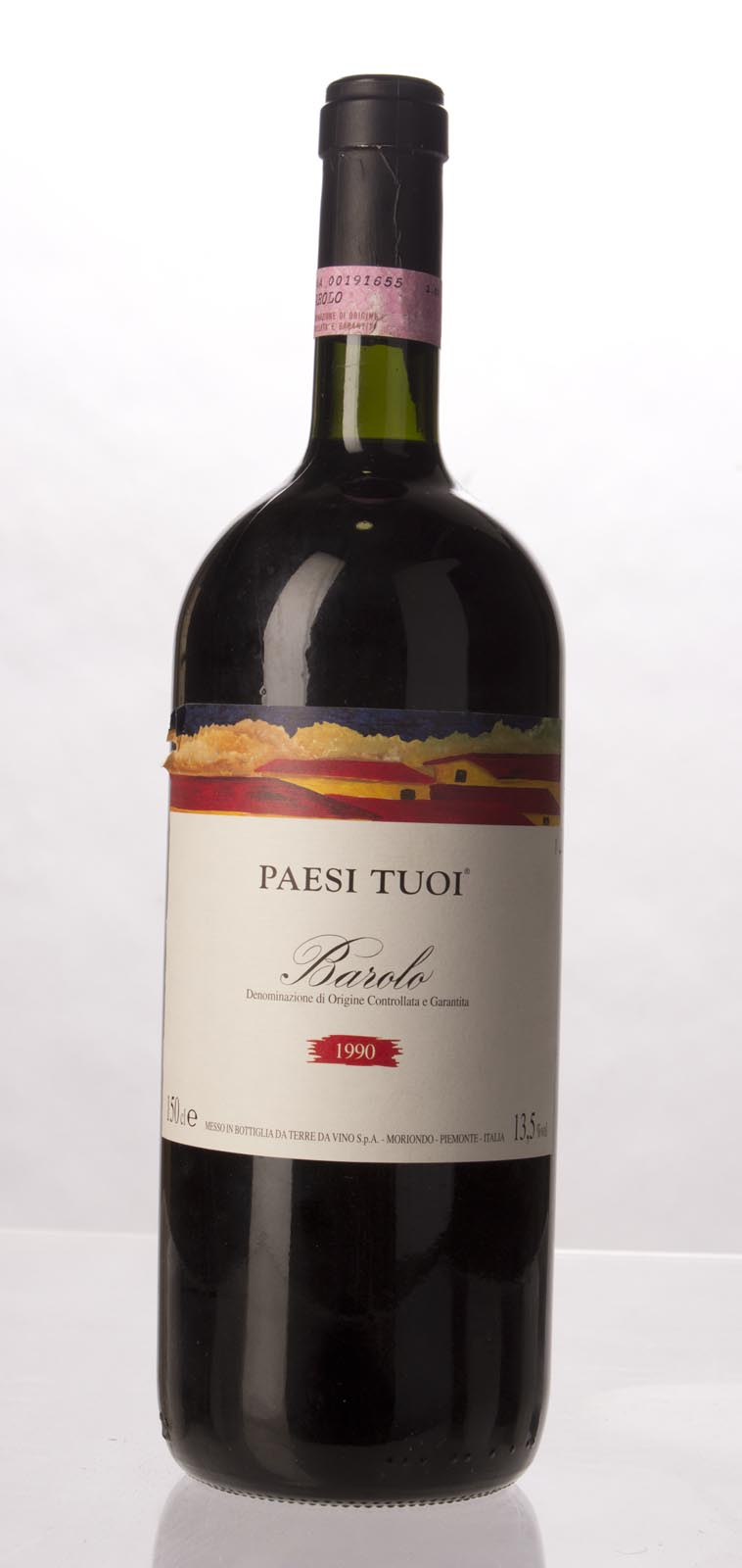 Paesi Tuoi Barolo 1990, 1.5L () from The BPW - Merchants of rare and fine wines.