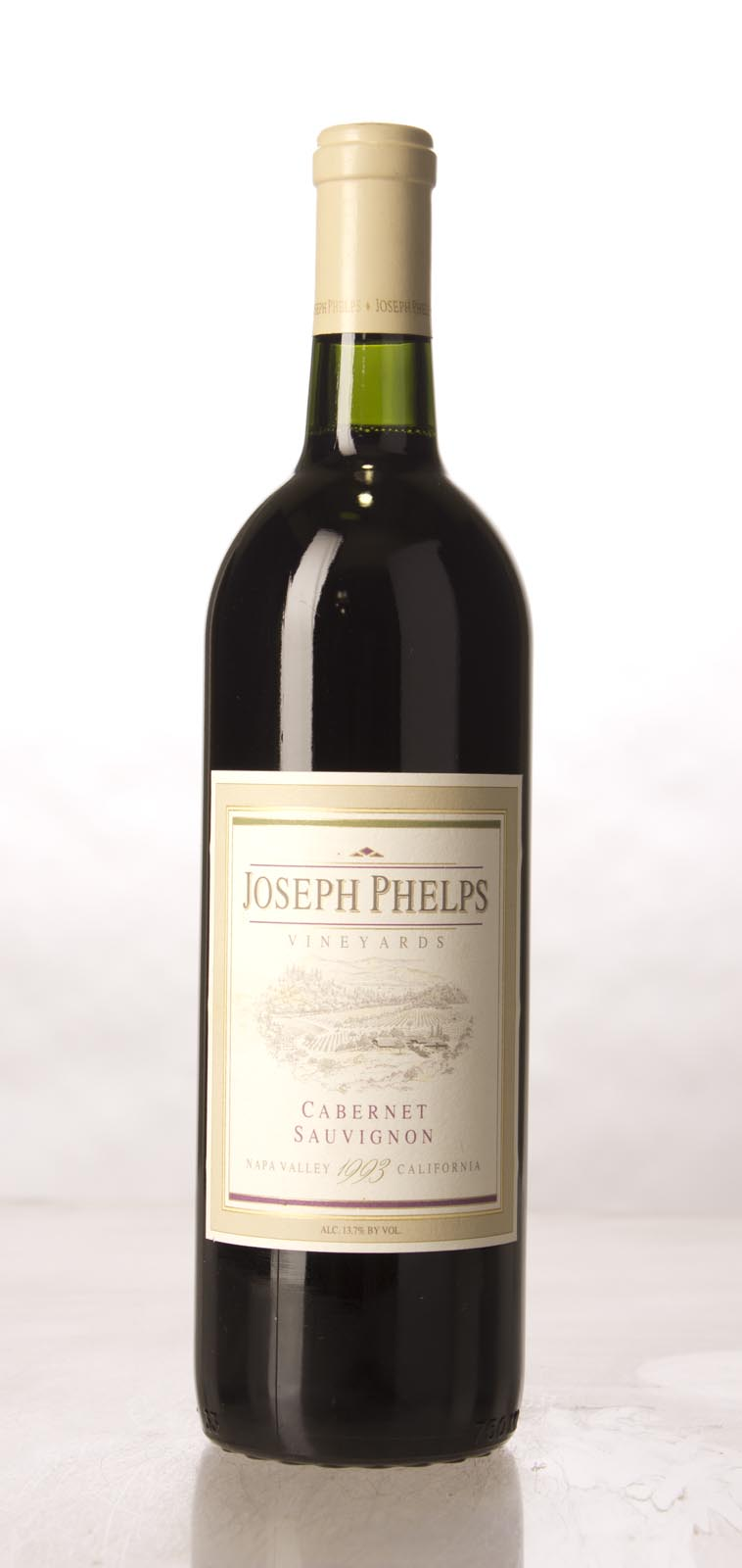 Joseph Phelps Cabernet Sauvignon Napa Valley 1993, 750mL (WA89) from The BPW - Merchants of rare and fine wines.