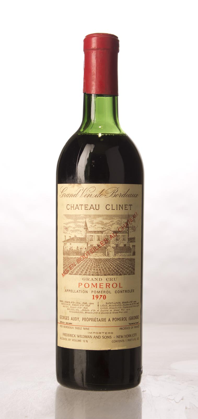 Clinet 1970, 750mL () from The BPW - Merchants of rare and fine wines.
