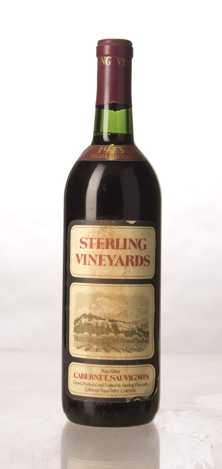 Sterling Vineyards Cabernet Sauvignon Napa Valley 1973, 750mL () from The BPW - Merchants of rare and fine wines.