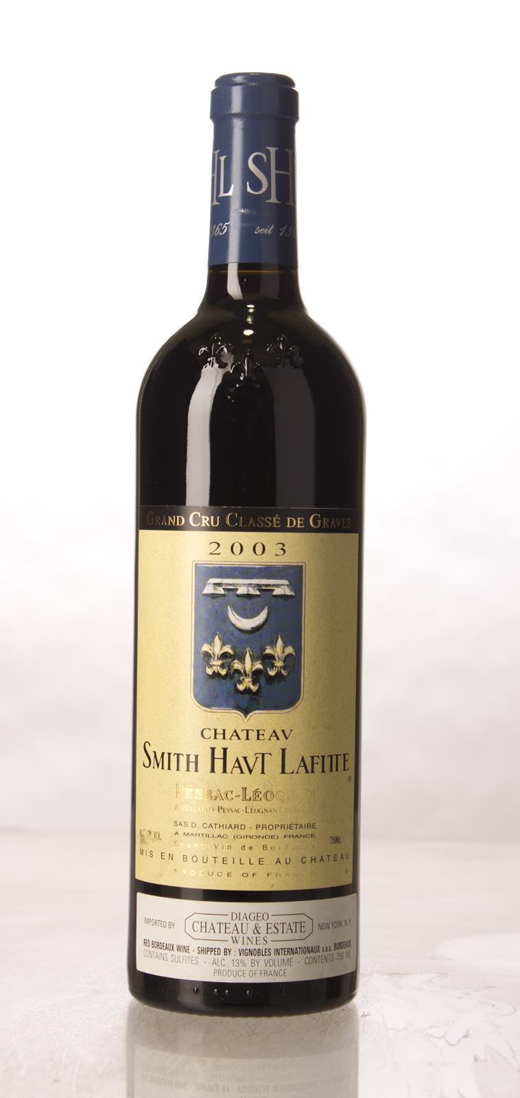 Smith Haut Lafitte 2003, 750mL (WA91, ST91, WS93) from The BPW - Merchants of rare and fine wines.