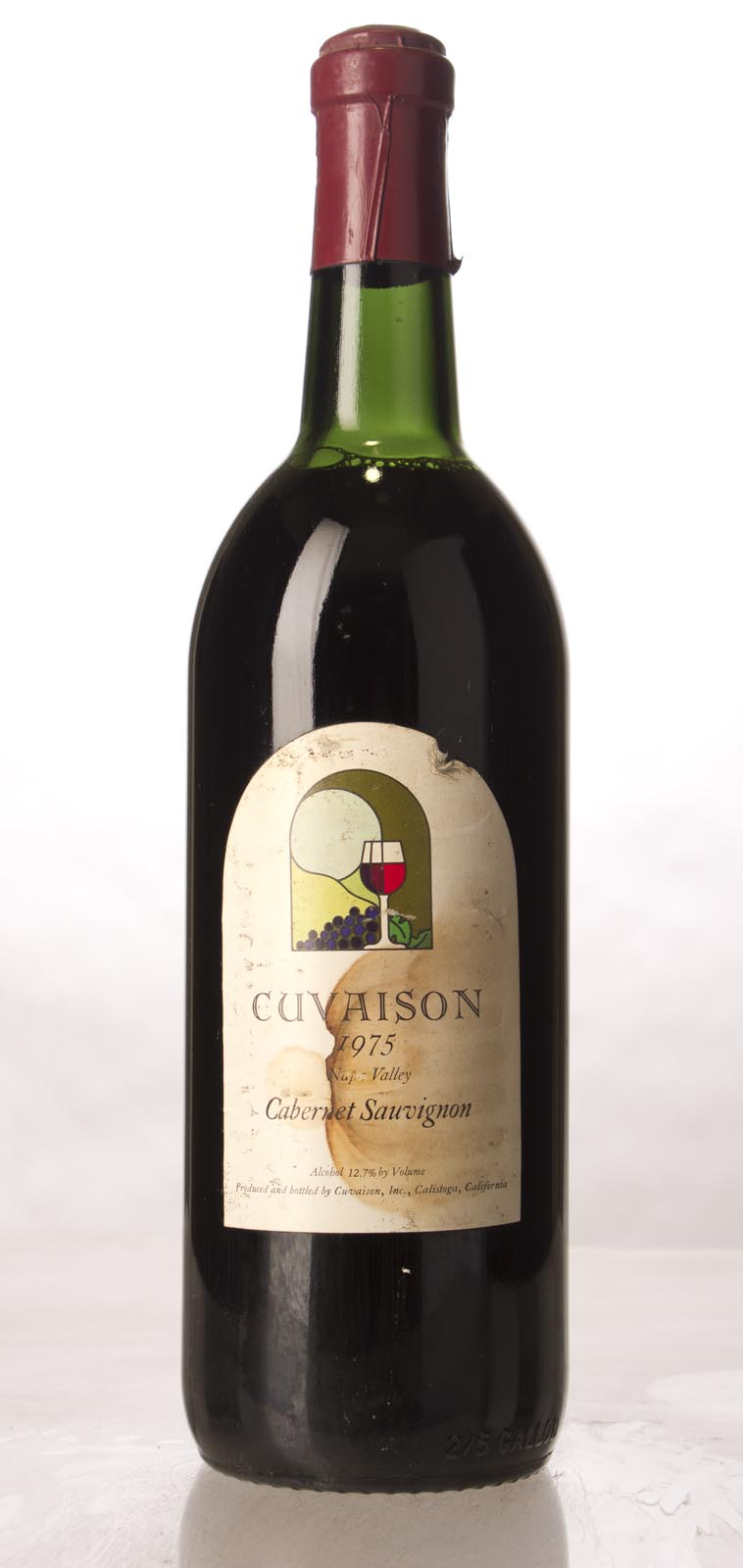 Cuvaison Cabernet Sauvignon Napa Valley 1975, 1.5L (WA93) from The BPW - Merchants of rare and fine wines.