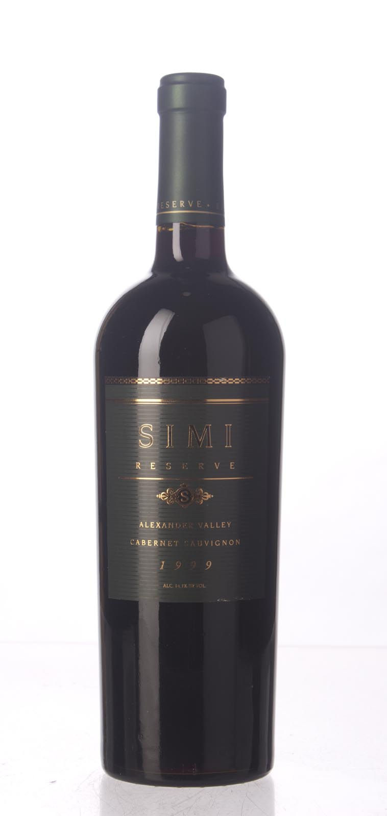 Simi Winery Cabernet Sauvignon Reserve 1999, 750mL () from The BPW - Merchants of rare and fine wines.