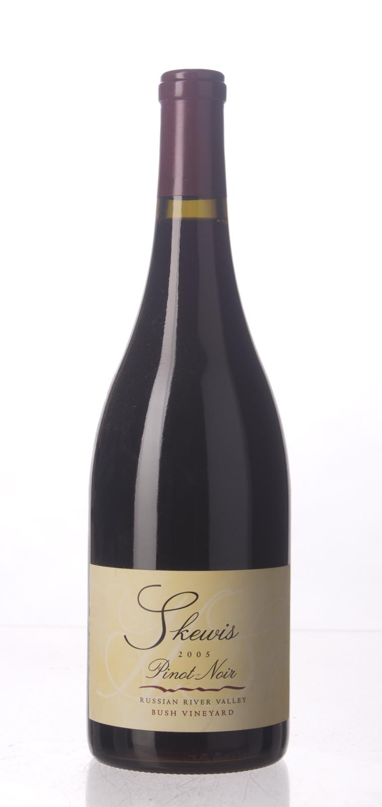 Skewis Pinot Noir Bush Vineyard 2005, 750mL () from The BPW - Merchants of rare and fine wines.