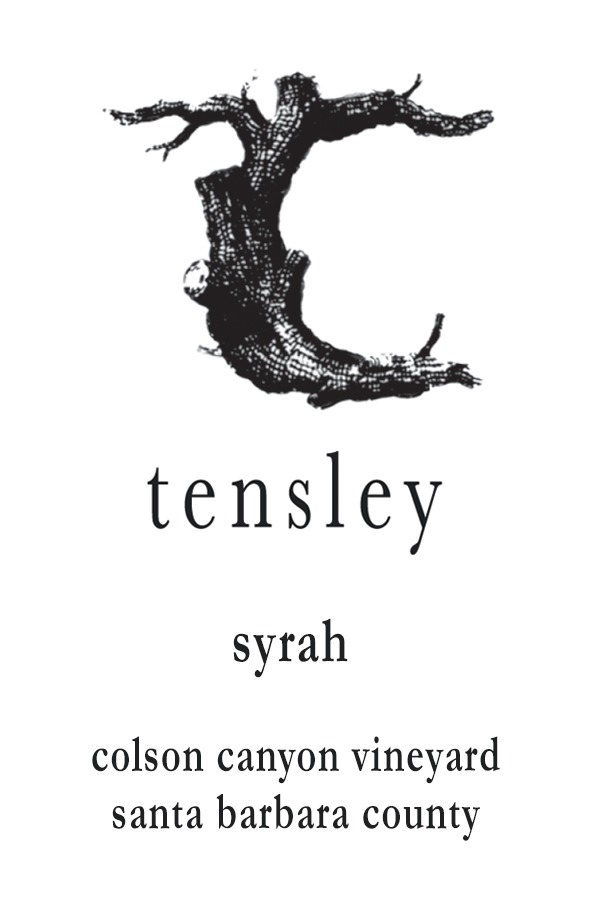Tensley Syrah Colson Canyon Vineyard 2015,  (VN94-97, JD95, WS94) from The BPW - Merchants of rare and fine wines.