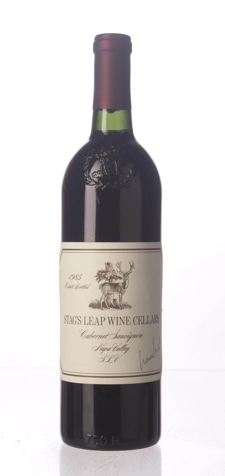 Stag`s Leap Wine Cellars Cabernet Sauvignon SLV 1985, 750mL () from The BPW - Merchants of rare and fine wines.