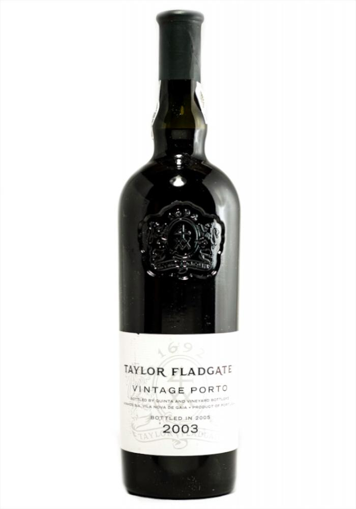 Taylor Vintage Port 2003,  (WA95, ST93, WS94) from The BPW - Merchants of rare and fine wines.