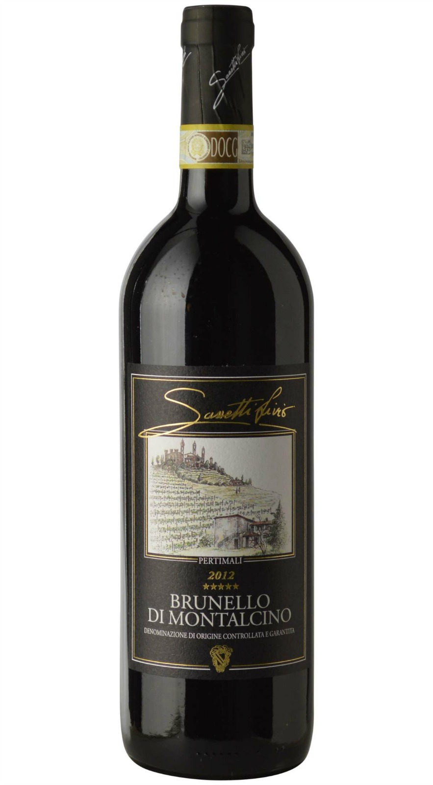 Pertimali Brunello di Montalcino 2013,  (JS98) from The BPW - Merchants of rare and fine wines.