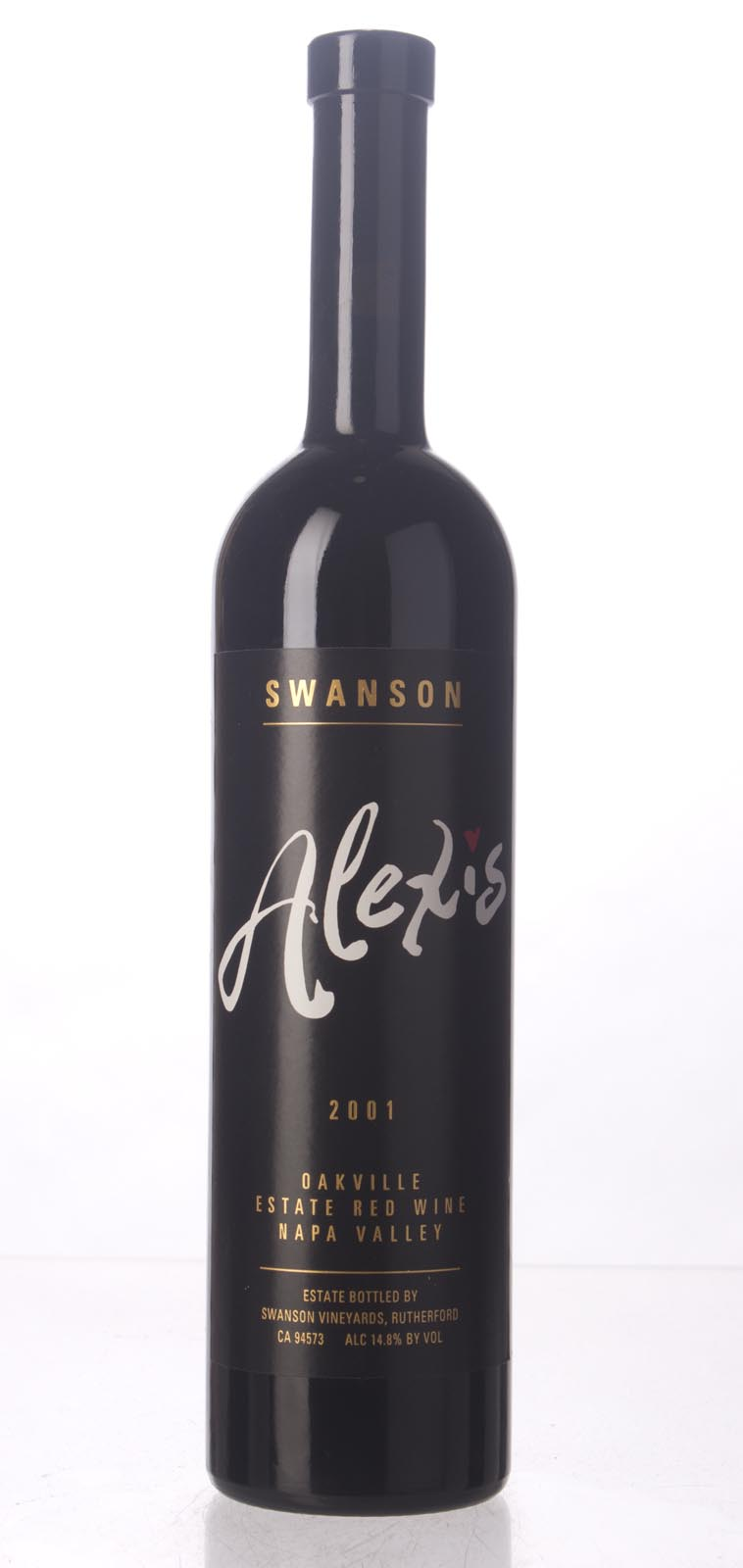 Swanson Proprietary Red Alexis 2001, 750mL () from The BPW - Merchants of rare and fine wines.