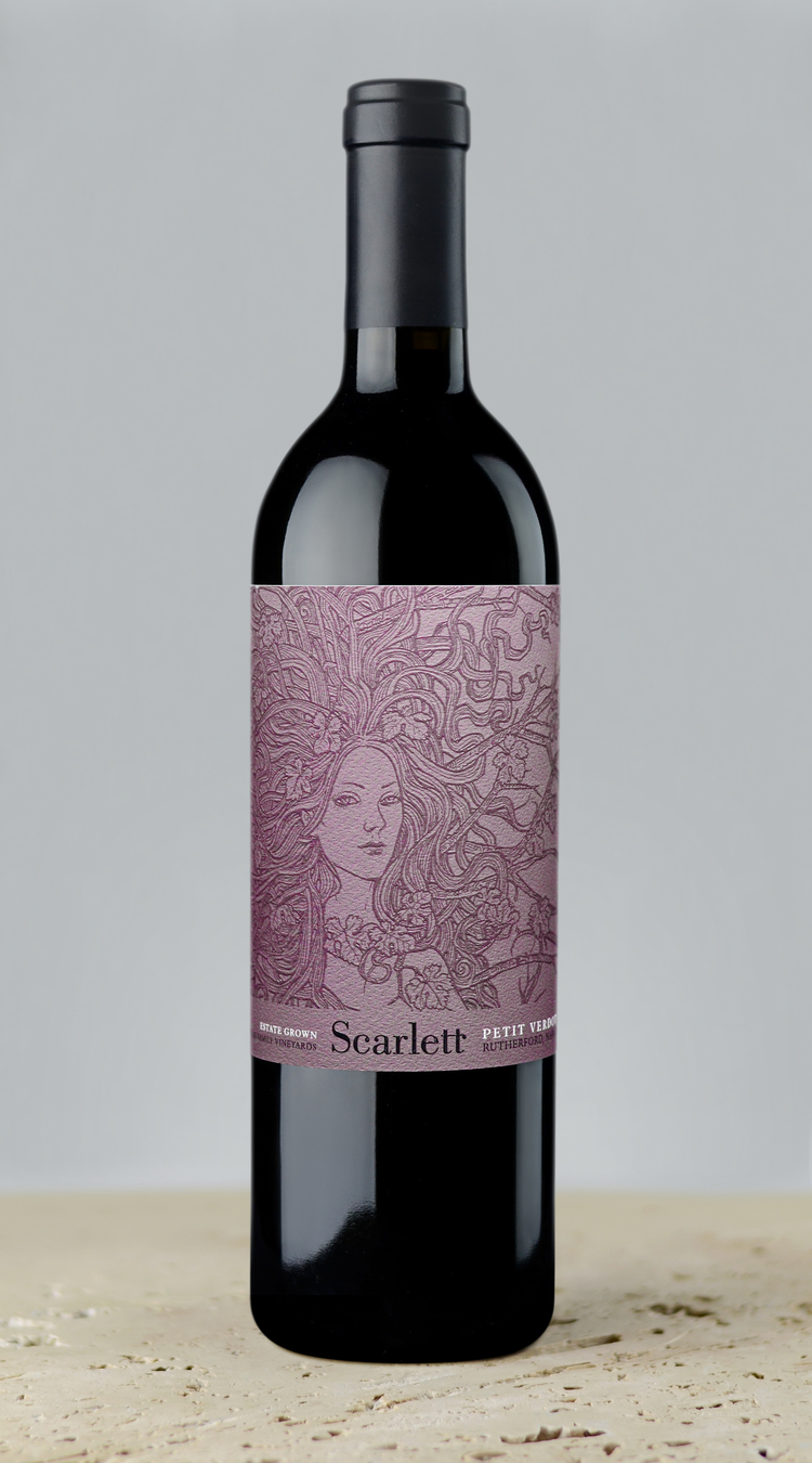 McGah Family Scarlett Petit Verdot Rutherford 2015,  () from The BPW - Merchants of rare and fine wines.