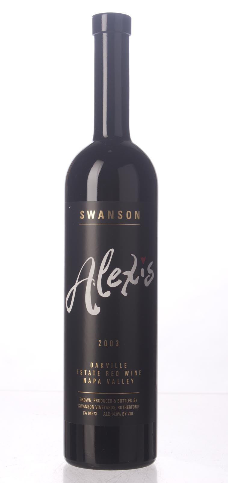 Swanson Proprietary Red Alexis 2003, 750mL (WA86) from The BPW - Merchants of rare and fine wines.
