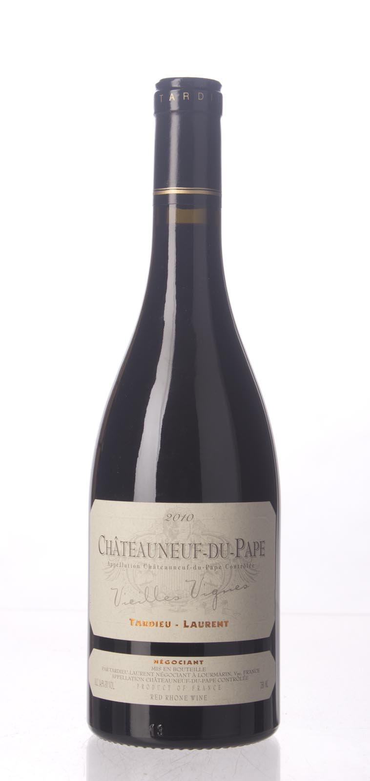 Tardieu Laurent Chateauneuf du Pape Vieilles Vignes 2010, 750mL (WS96) from The BPW - Merchants of rare and fine wines.