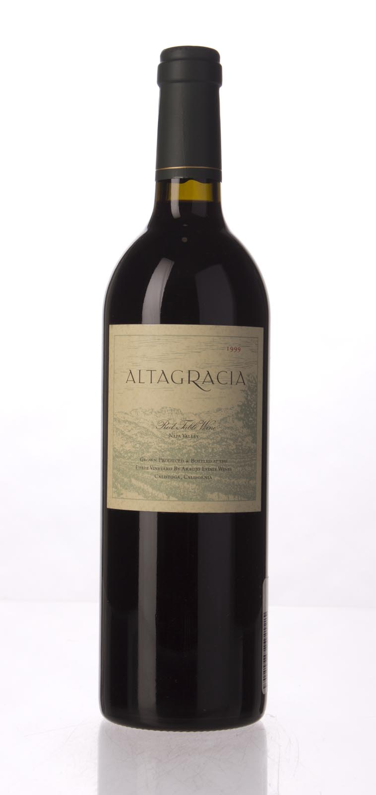 Araujo Estate Cabernet Sauvignon Altagracia 1999,  (WA90) from The BPW - Merchants of rare and fine wines.