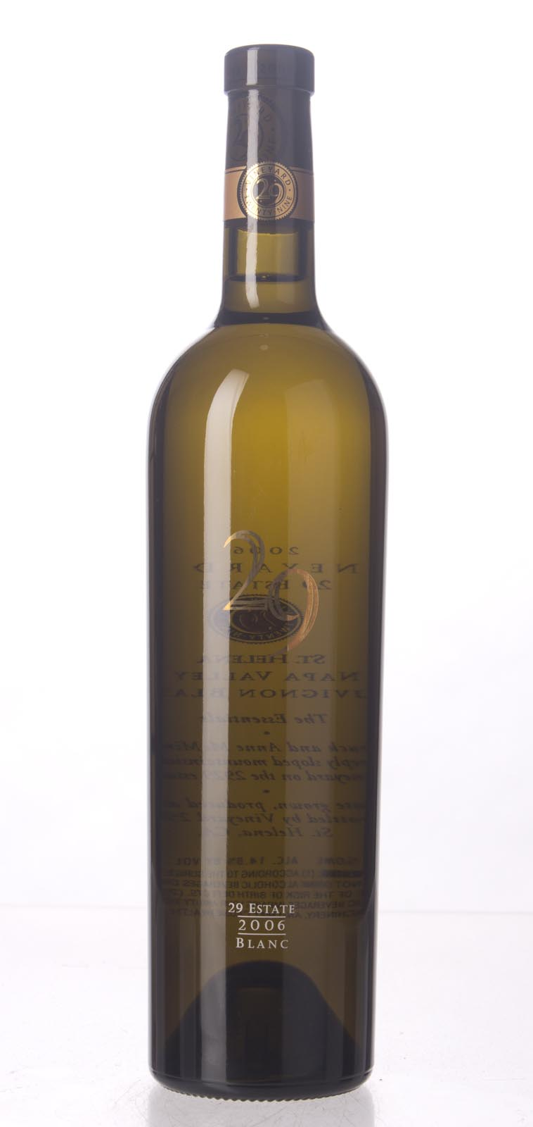 Vineyard 29 Sauvignon Blanc 2006, 750mL (WA92) from The BPW - Merchants of rare and fine wines.