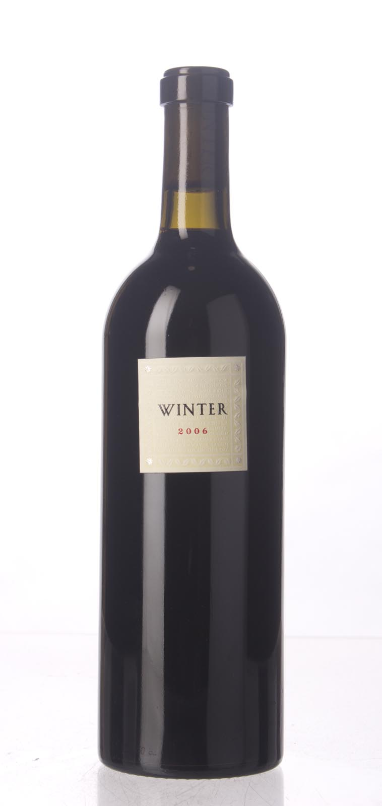 Winter Cabernet Sauvignon Napa Valley 2006, 750mL (WA94, WS92) from The BPW - Merchants of rare and fine wines.