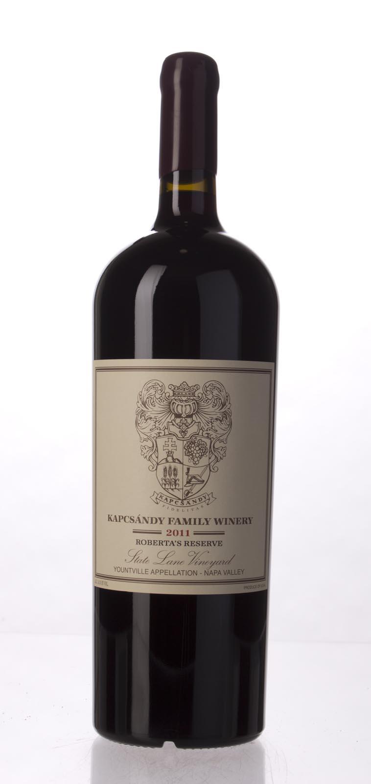 Kapcsandy Family Winery State Lane Cabernet Sauvignon