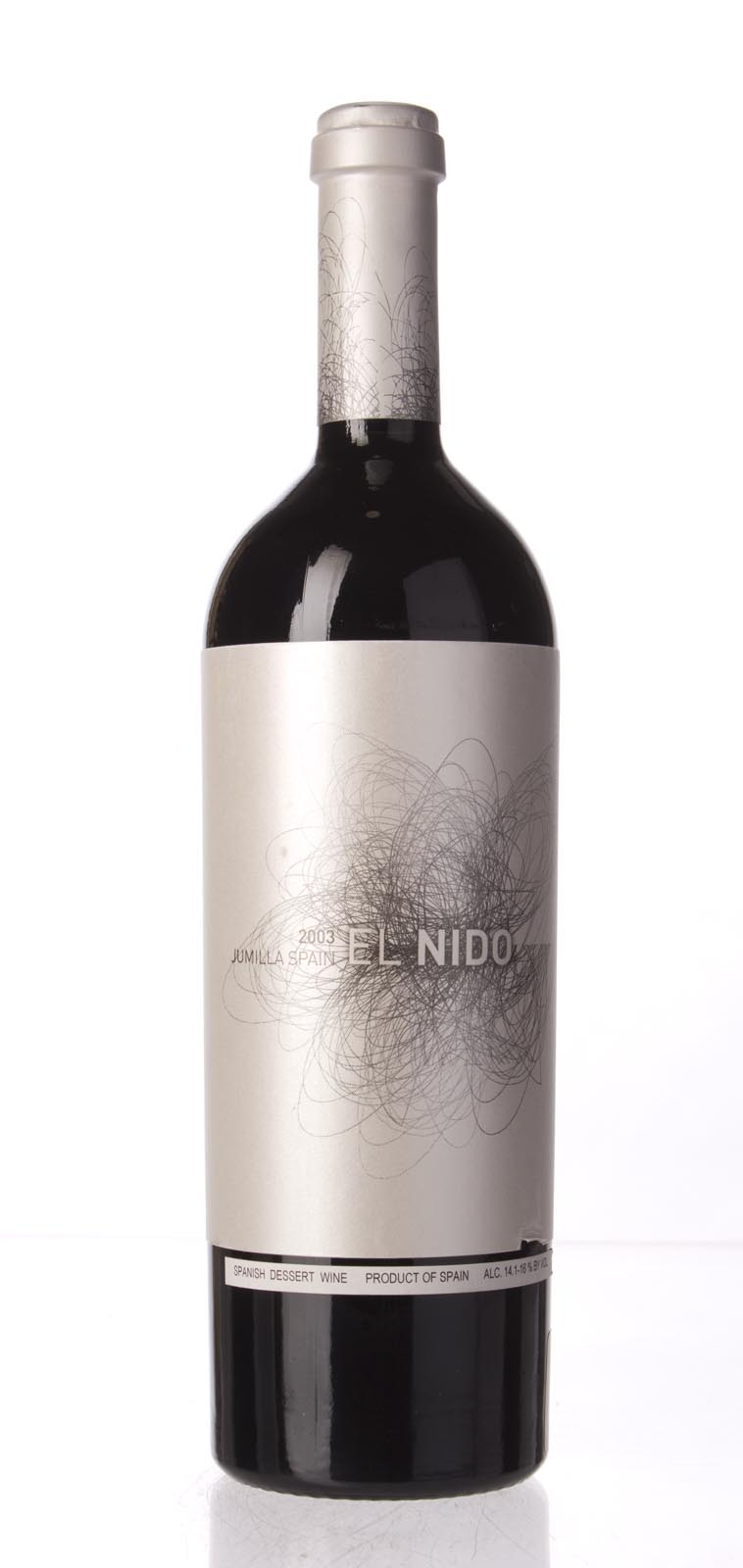 Bodegas El Nido `El Nido` 2003, 750mL (WA97) from The BPW - Merchants of rare and fine wines.