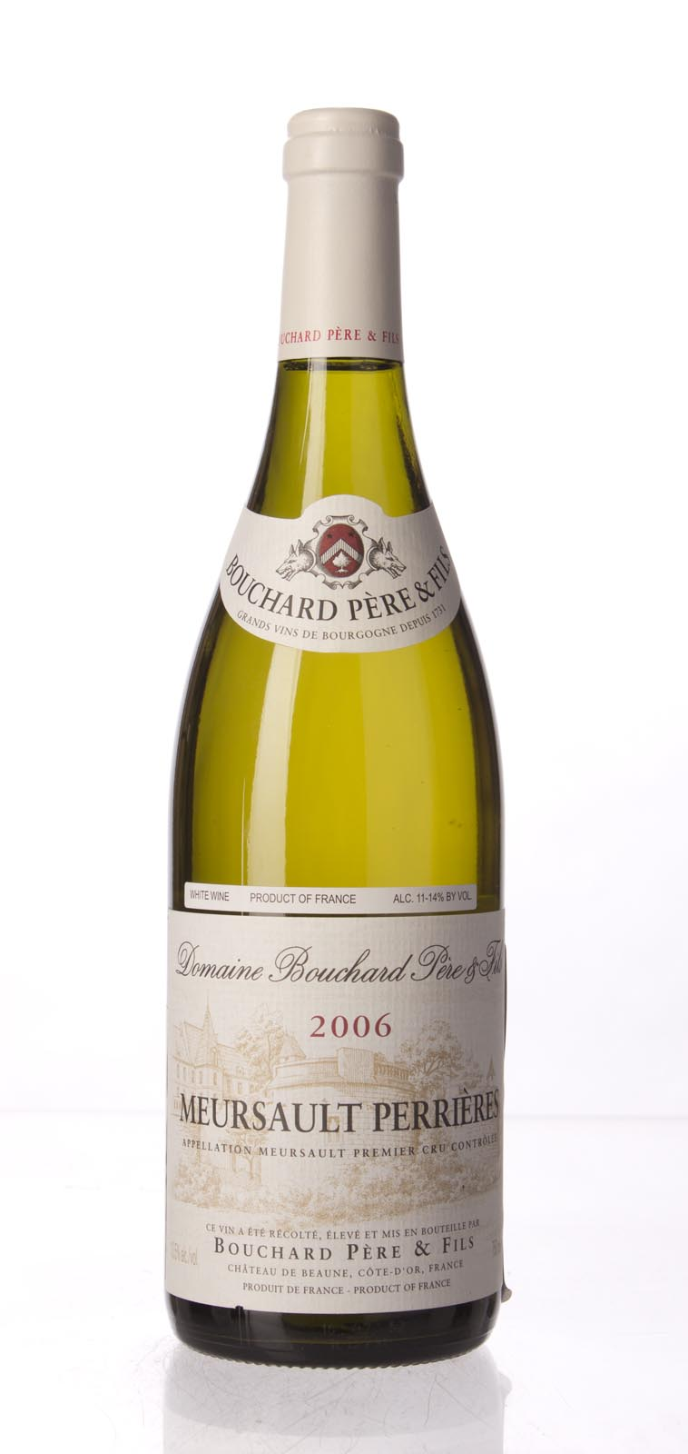 Bouchard Meursault les Perrieres 2006, 750mL (BH94, WA93-94) from The BPW - Merchants of rare and fine wines.