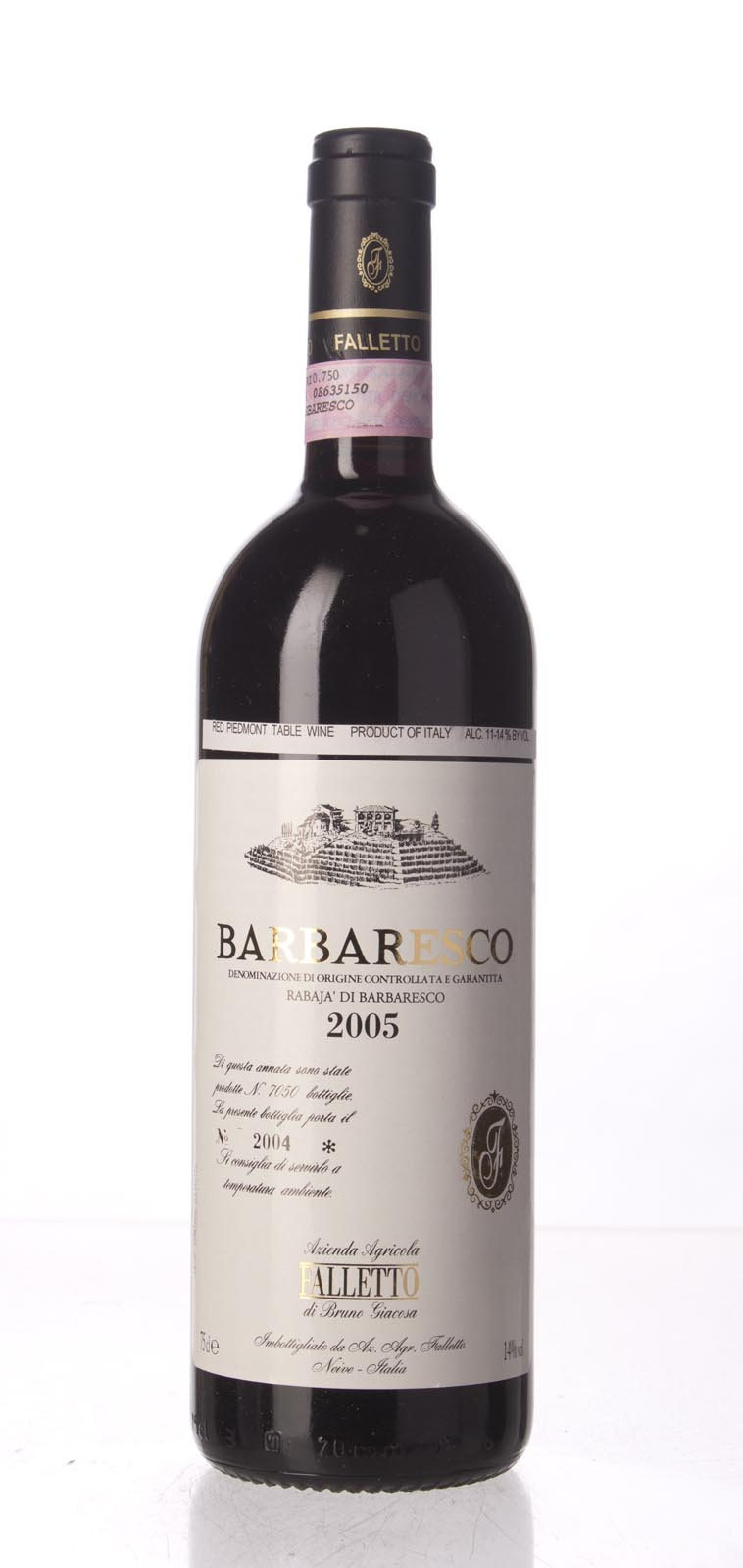 Bruno Giacosa Barbaresco Rabaja 2005, 750mL (WA94+, WS95) from The BPW - Merchants of rare and fine wines.