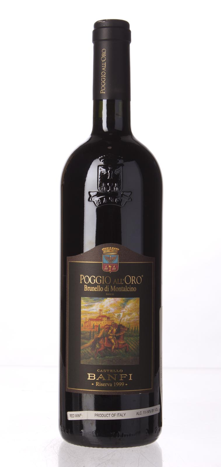 Castello Banfi Brunello di Montalcino Poggio all`Oro Riserva 1999, 750mL (WS96) from The BPW - Merchants of rare and fine wines.